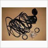 Cocar USB&3.5mm AUX延長ケーブル G-UBAUX取付