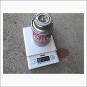 カセットボンベCB缶のチャージ