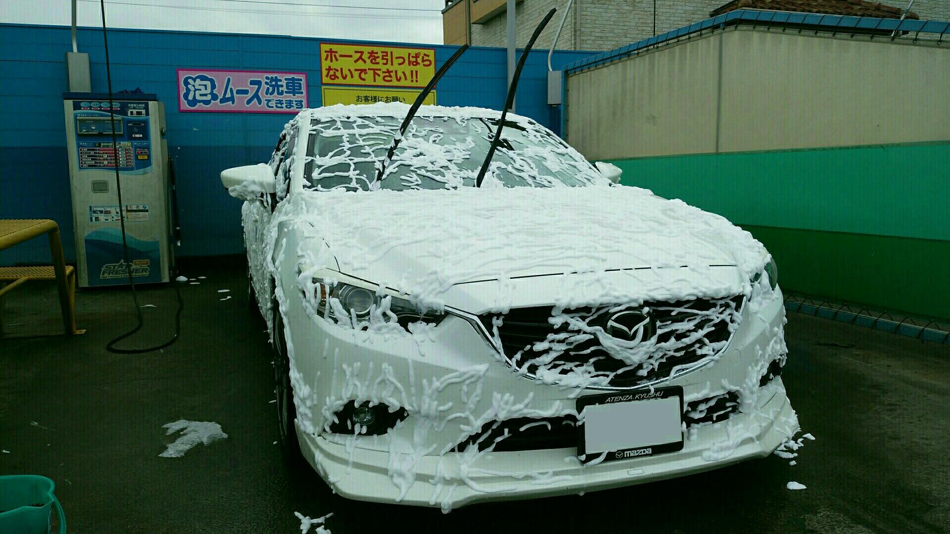 2018年37回目の洗車