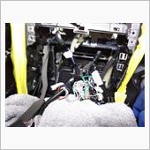 MY08に中期AVナビユニットをインストールの画像