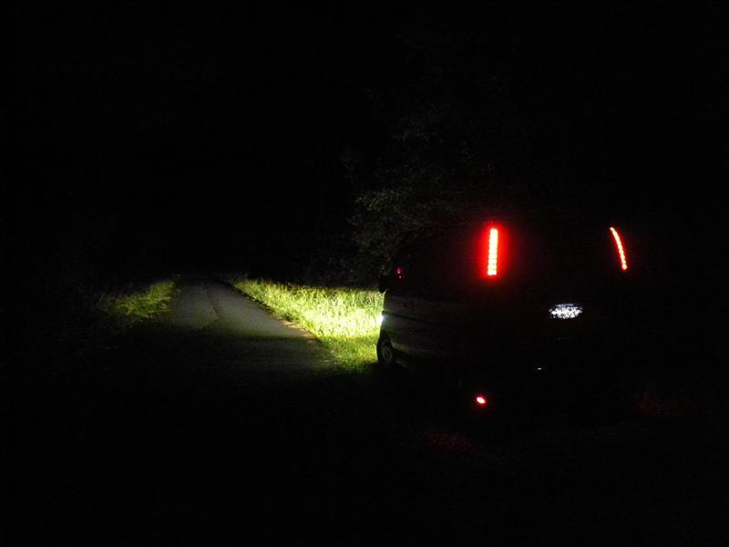 夜間再光軸調整後撮影