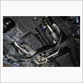 メタルキャタライザー仕様のフロントパイプ取り付けの画像