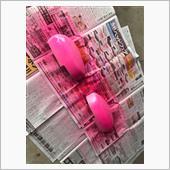 ラバースプレー塗装!なんと今回はピンク!?の画像