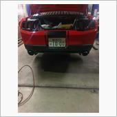 Mustang2012~2013バンパースワップ