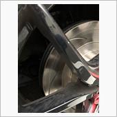 フロントブレーキローター交換の画像