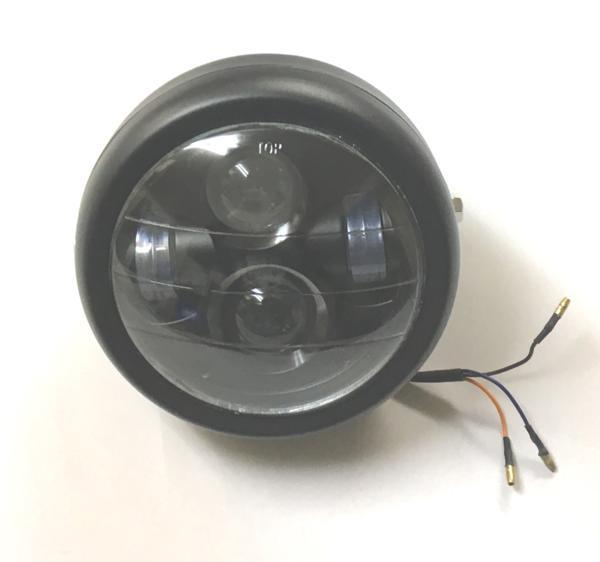 LED ヘッドライト 付けた感じ(見た目