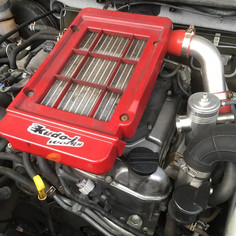 エンジンオイル交換(-ω-)105,000キロ