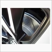 スリットブレーキローター&低ダストパッド交換の画像