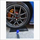 Surluster タイヤコーティング+R モニター当選品 使用の画像