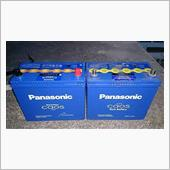 Panasonic Blue Battery caos N-80B24L/C5交換の画像