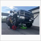 TIS wheels 544BM  35×12.5R14 マッドタイヤ装着!!