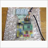 日本製デジタルスピードメーターに交換の画像