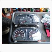 エブリイワゴン用メーター取付(AT用)要加工 タコメーターの画像