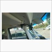 AUTO-VOX X2(電子ルームミラー)取付 (その9:モニタ基台変更) の画像