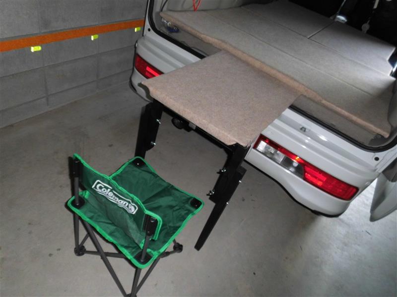 車中泊ベッドボード(多用途)の作成~そのⅠ