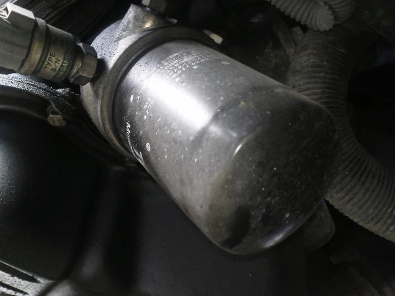 2018/10/31 エンジンオイル、オイルエレメント交換