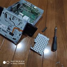 A5 スポーツバック MMI ユニット SSD化のカスタム手順1