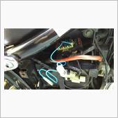 USB充電コネクター取り付け