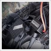 ヘッドライトに社外HIDバラストを取り付けるの画像