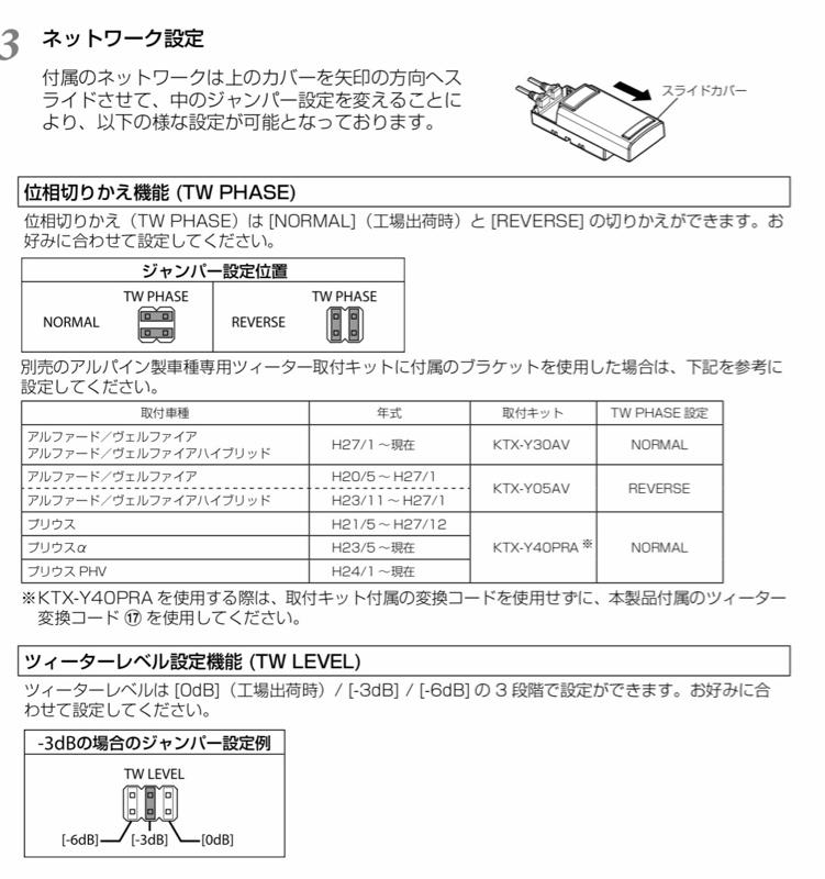 フロントスピーカー交換(*・ω・)ノその3
