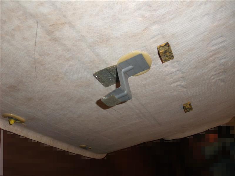 天井内張の外し方 その2