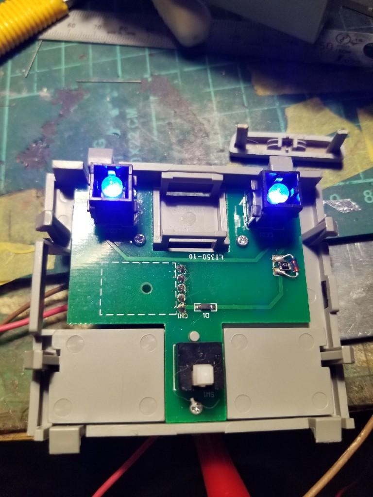 RB1 Lグレードのマップランプ移植