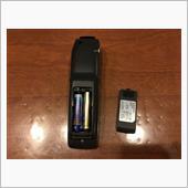 カーナビのリモコンの電池交換