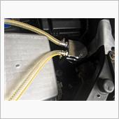 オイルキャッチタンクの配管
