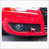 牽引フック取付とインタークーラー冷却用 空気取入口加工の画像