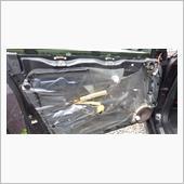 助手席ドアロック修理の画像