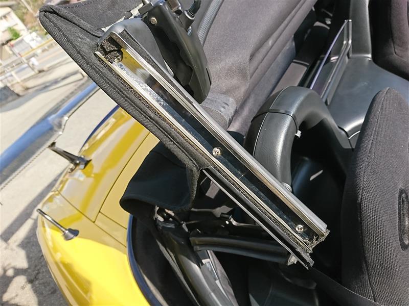 S2000 AP1 ウェザーストリップ リテーナ 雨漏り修理