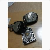 キーレスエントリー電池交換の画像