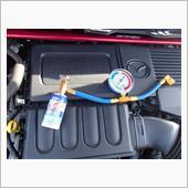 エアコン添加剤充填 デンゲン オイル入りエアコンガス 50g (HFC-134a用)の画像
