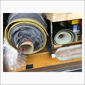 荷室改造11(マット貼り)の画像