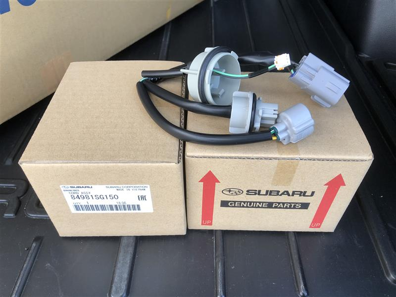 D型ヘッドライト(ADB無し)に交換するための部品など(対象はA~C型車両)