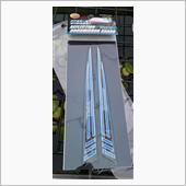 ハセプロ リフレクションドアミラーガード ブラック/ブルーの画像
