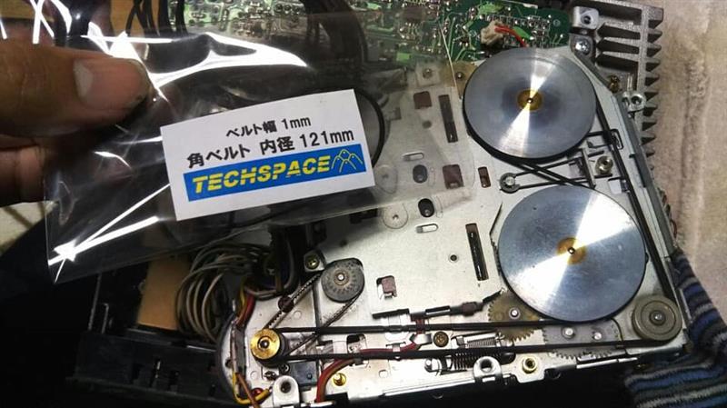 カセットデッキ(クラリオンPN-9158C)レストア