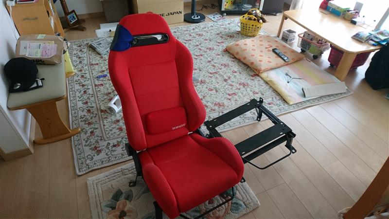 【BRIDE SUPER SEAT】MO-type シエンタ(NCP17#)用取付け