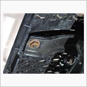 テールゲートグリル固定ナット 防錆処理の画像