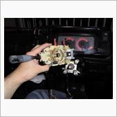 コンビネーションスイッチ清掃の画像