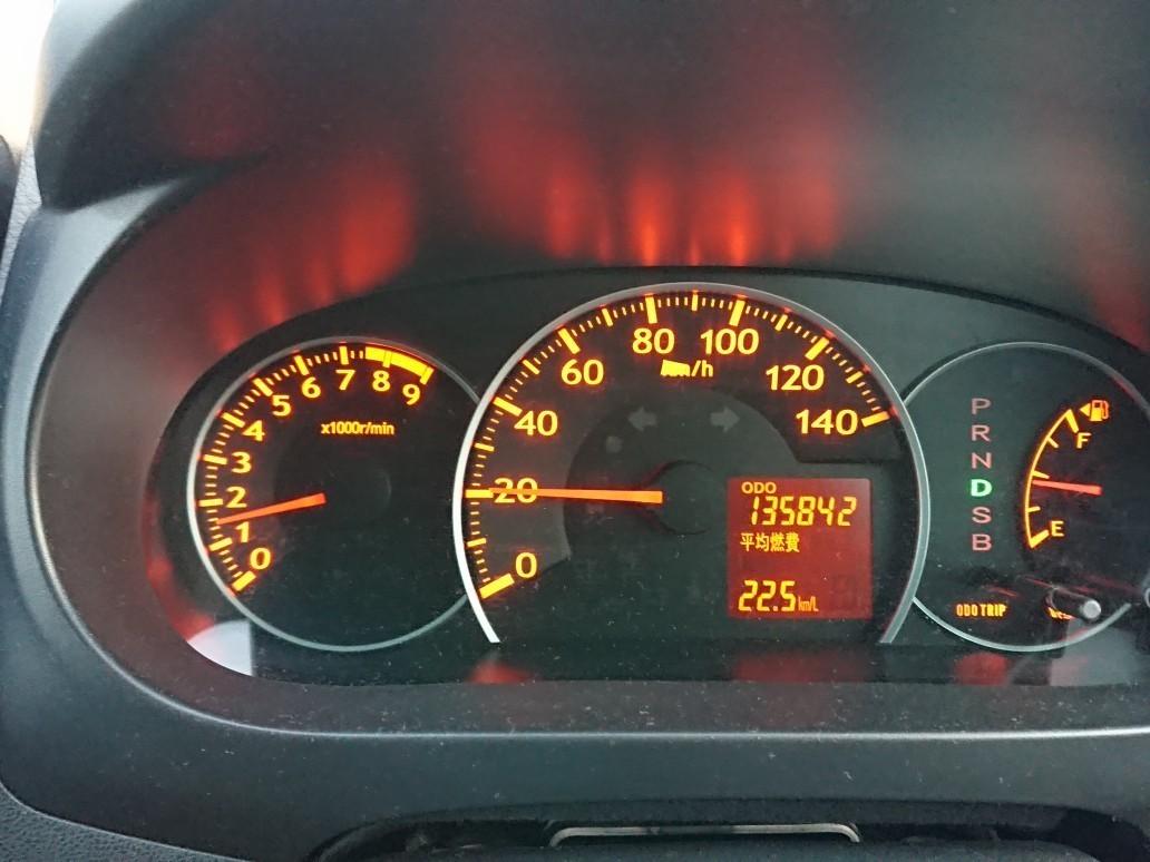 エンジンオイル交換(135,842km)
