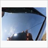 ガラスのお掃除の画像