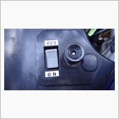リザーブスイッチ表示とウェアライブカメラの取り付けの画像