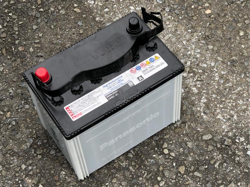 電池の交換