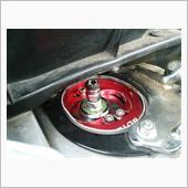 ファンカーゴ ステアリング操作時異音対策 車高調編・其の六+スタッドレスタイヤ装着