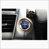 パワーの ボタンの シルバーの リングを ( ? )の画像