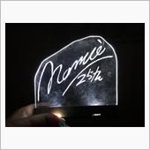 namie25thアクリルボードの画像