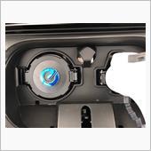 充電ポートeステッカー貼り付けの画像