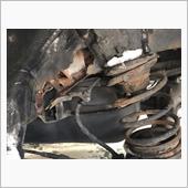 モノコックフレーム腐食・穴開き修理の画像