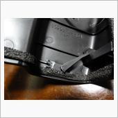 ドアミラーインナーカバー修理の画像